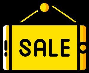 symbol, sign, sale